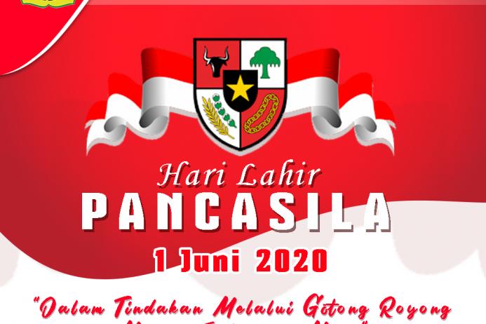 "Hari Pancasila ""1 Juni 2020"""