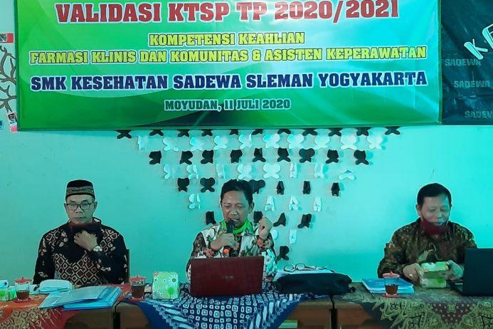 Validasi KTSP TP 2020/2021, SMK Sadewa Menjamin Mutu Pendidikan
