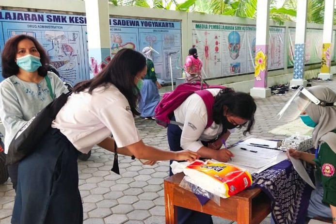 Masa Pengenalan Lingkungan Sekolah (MPLS) Hari Pertama Offline