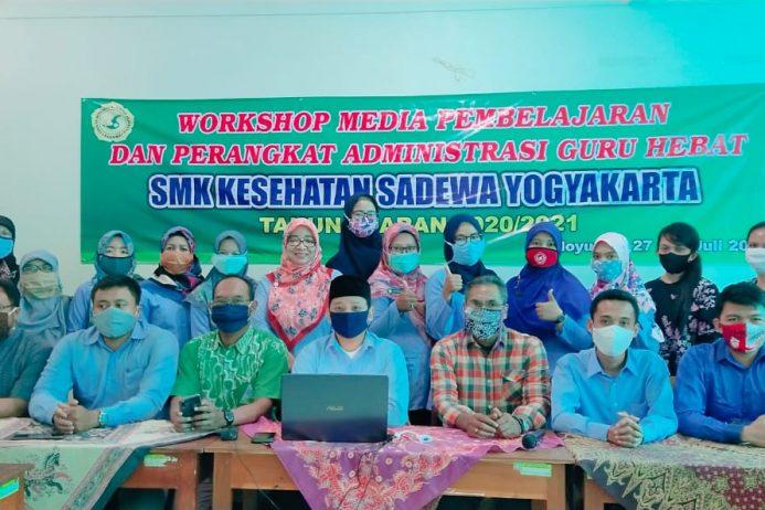 Workshop Media Pembelajaran dan Admin Guru SMK Kesehatan Sadewa Tanggal 27 – 29 Juli 2020